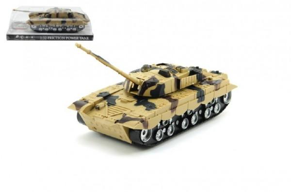 Tank plast 27cm na setrvačník na baterie se světlem se zvukem