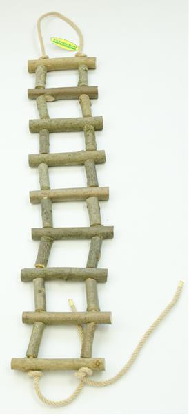 Žebřík dřevěný přírodní silnější 60 cm