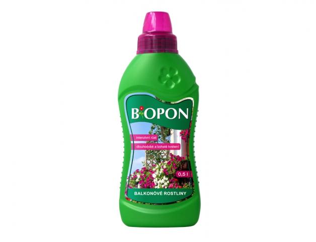 Hnojivo BOPON na balkónové rostliny 500ml