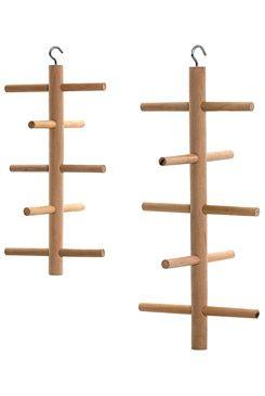 Prolézačka dřevěná závěsná-ptáci, m.hlod. 25cm KAR