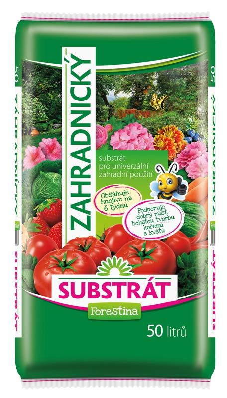 Substrát FORESTINA STANDARD zahradnický univerzální 50l