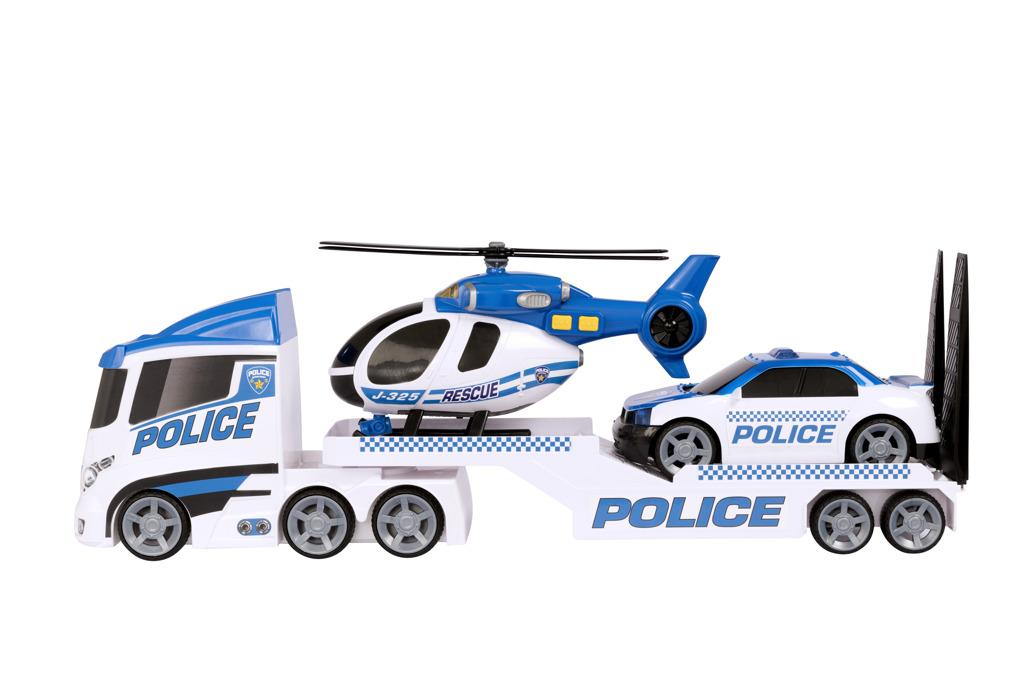 Teamsterz policejní přeprava helikoptéry se zvukem a světlem