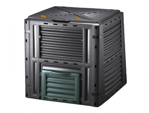Komposter GARDEN černý 80x80x81cm 450l