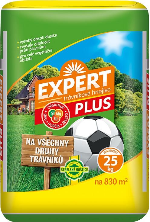 Hnojivo trávníkové - Expert Plus 25 kg