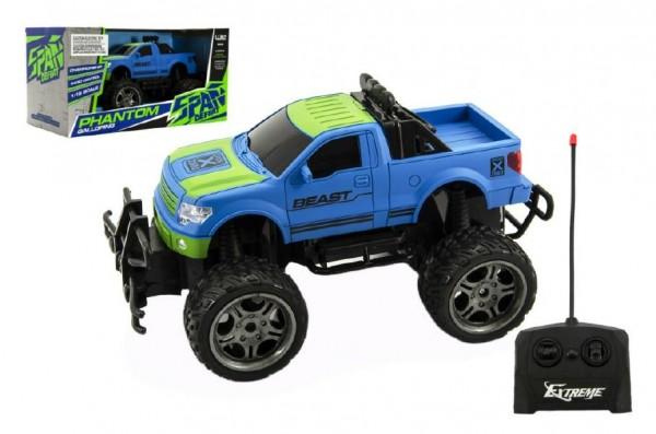 Auto RC terénní plast 30cm velká kola na dálkové ovládání na baterie