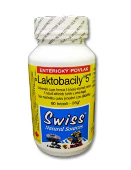 Swiss Laktobacily 5 cps 60