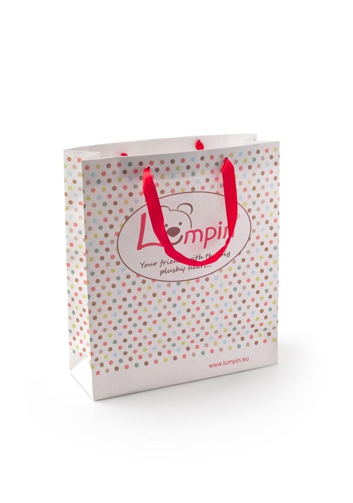 Papírová taška LUMPIN - malá