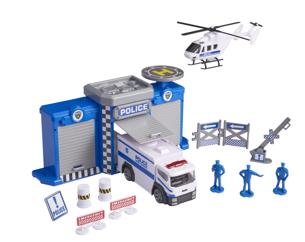 Teamsterz Policejní stanice