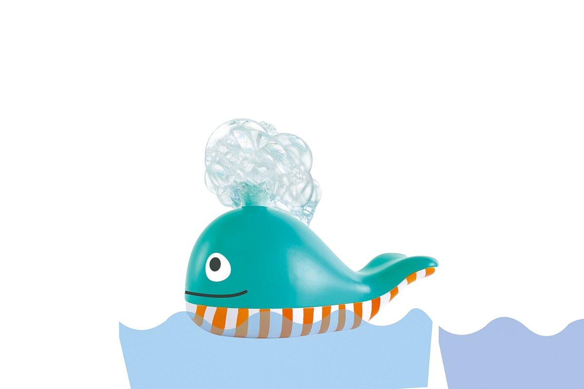 Hračky do vody - Velryba s pěnou