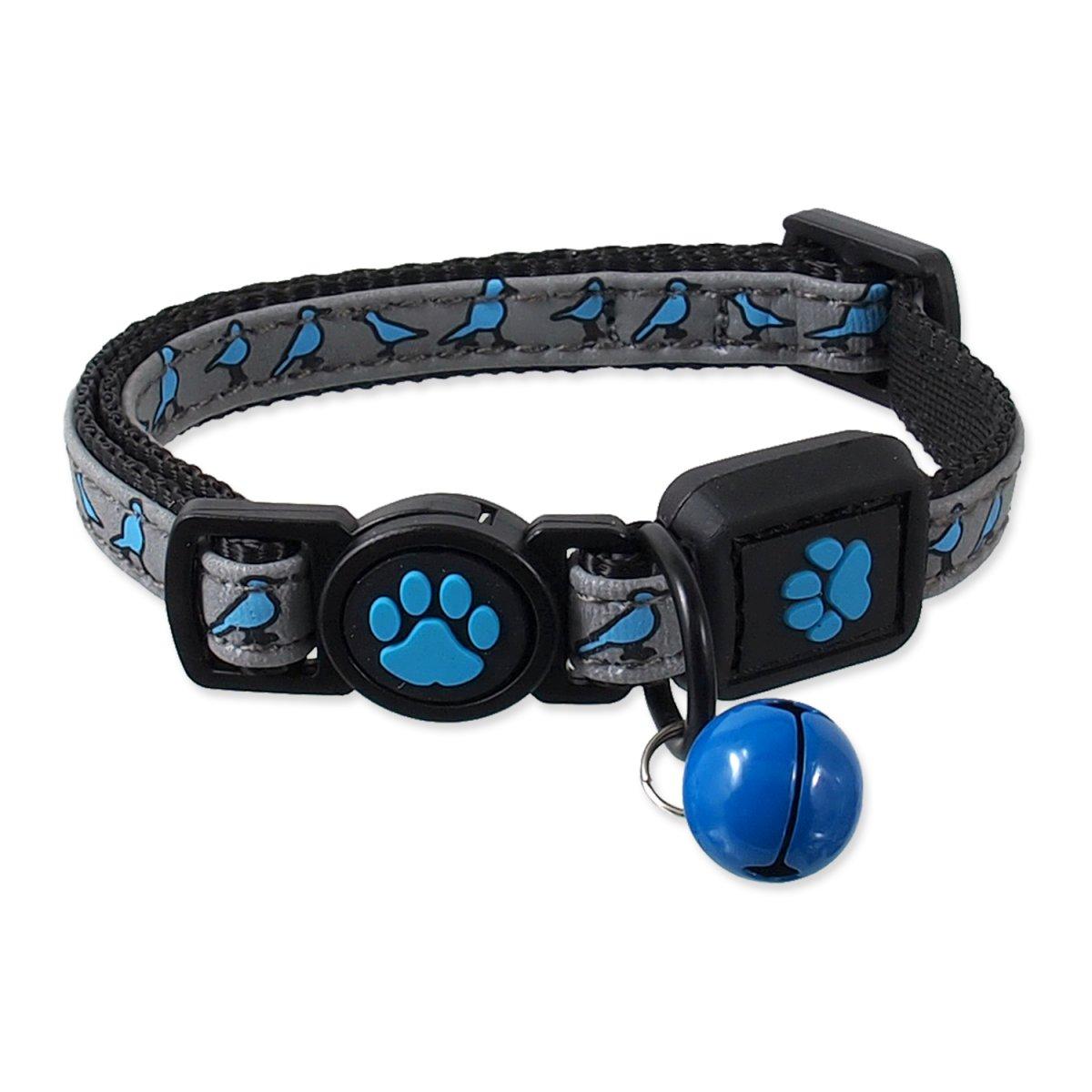 Obojek ACTIVE CAT Reflective modrý XXS (1ks)
