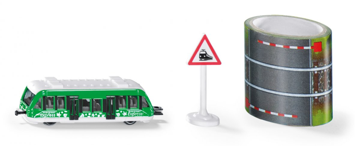 SIKU Blister - lokální vlak s pásem s kolejemi