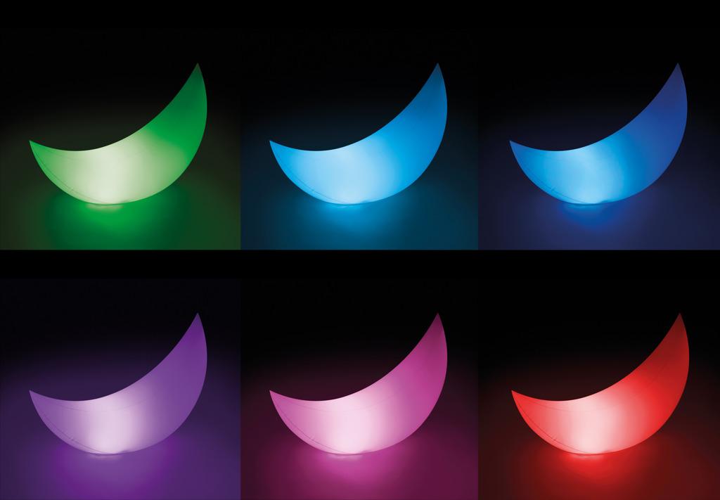 LED světlo Měsíc