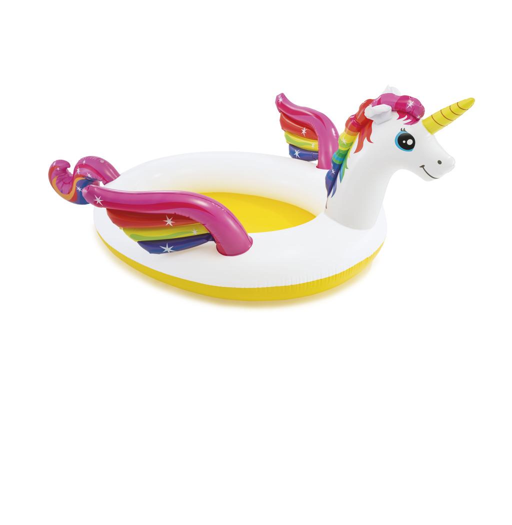 Bazén dětský jednorožec kůň s rozprašovačem