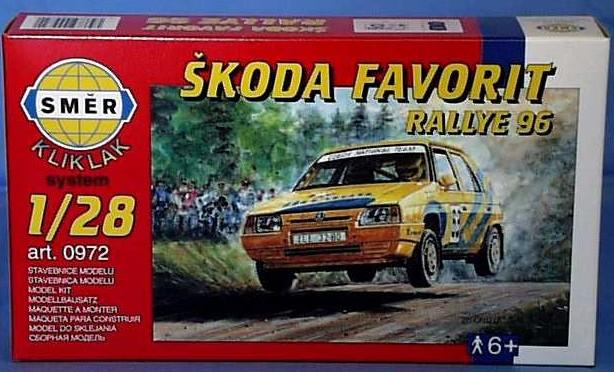Směr Škoda Favorit Rallye 96