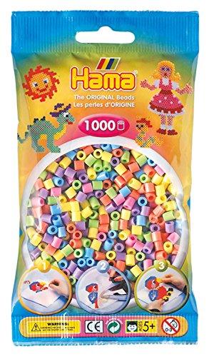 Zažehlovací korálky Hama barevné