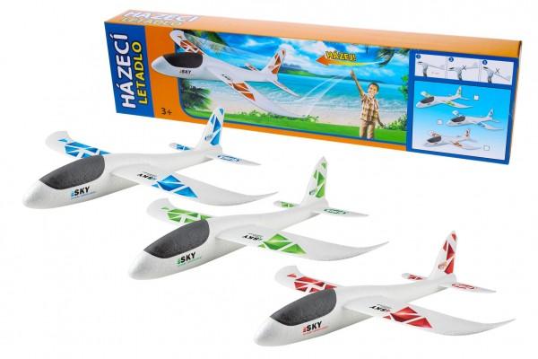 Letadlo házecí polystyrén model 47x49cm