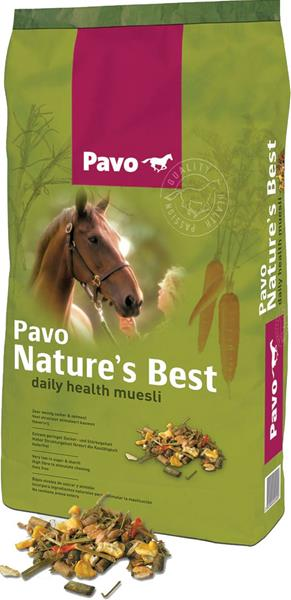 Pavo Müsli Natures Best 15 kg