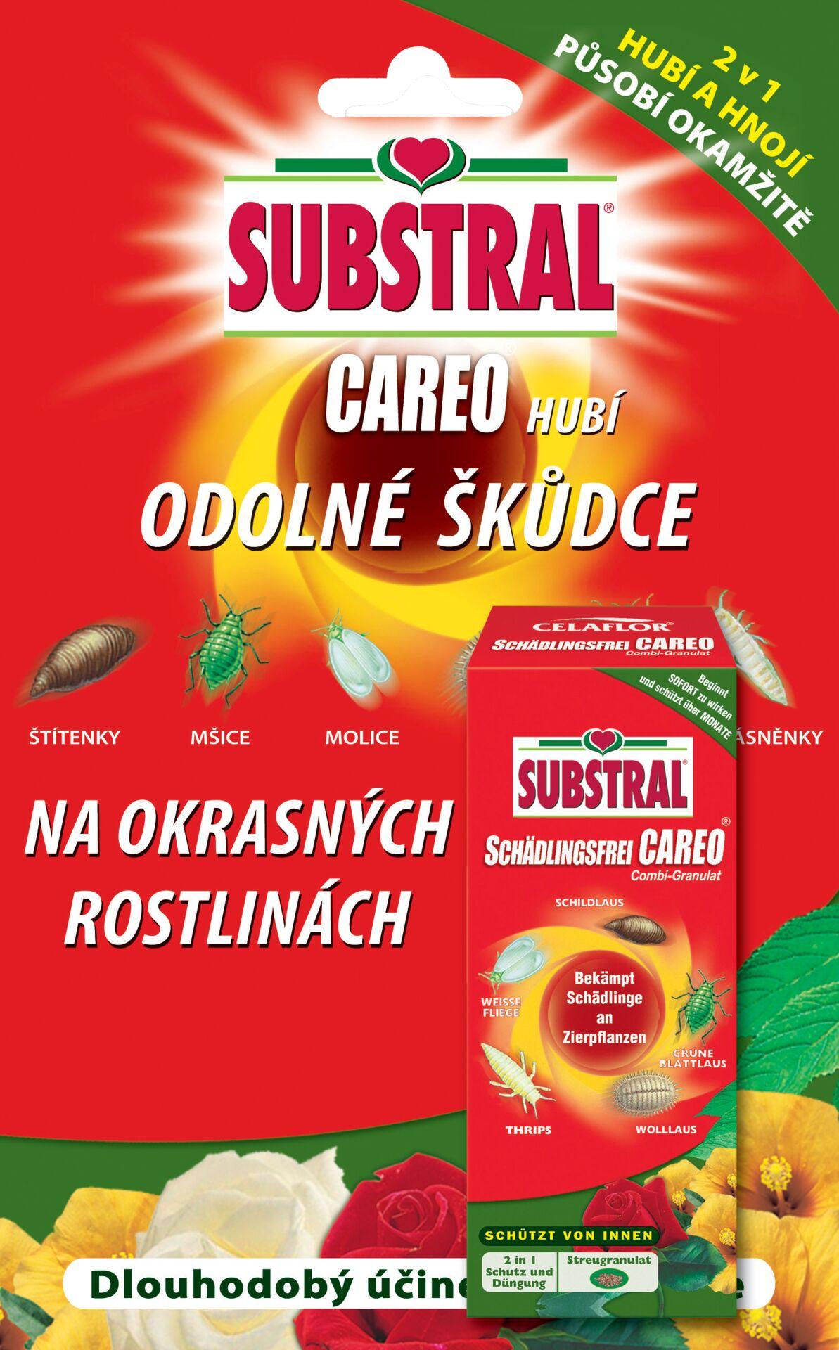 Substral Careo na okrasné rostliny - koncentrát 30 ml