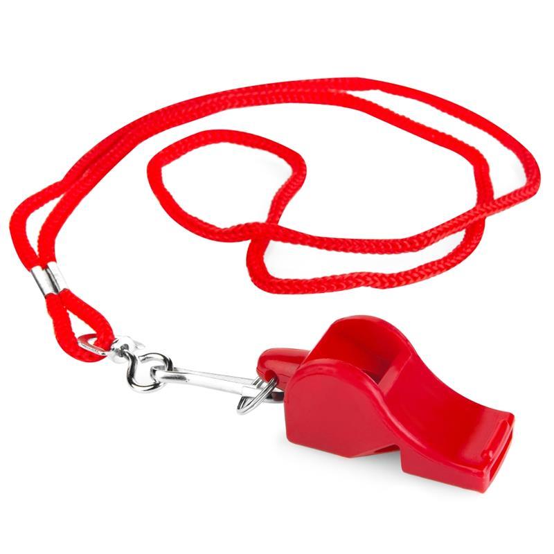 Spokey Mayday píšťalka plastová červená