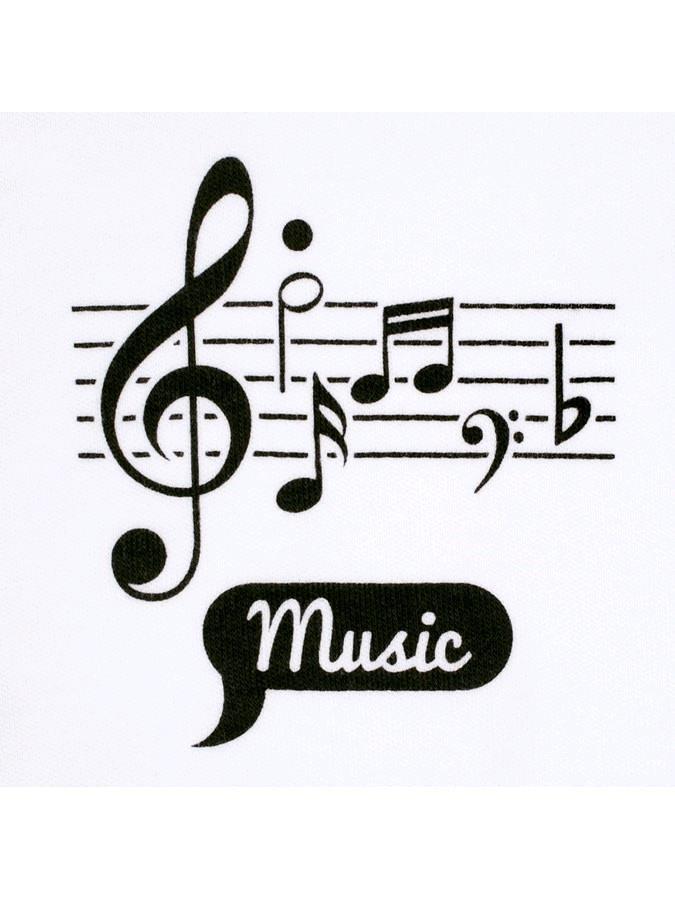 Kojenecká bavlněná košilka New Baby Music - 62 (3-6m)