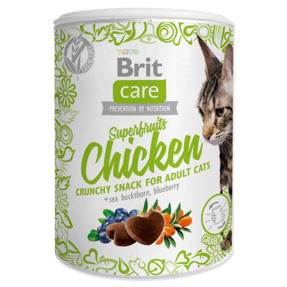 BRIT Care Cat Snack Superfruits Chicken (100g)