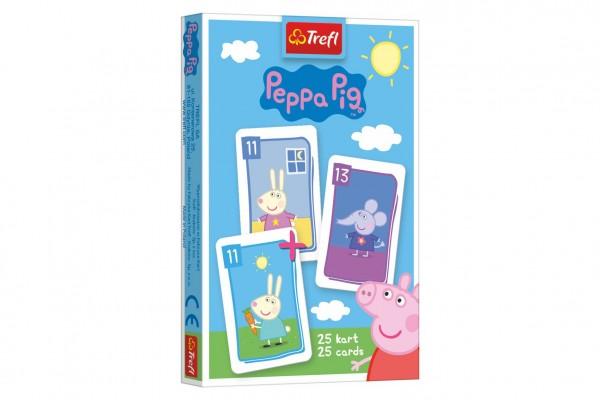 Černý Petr Prasátko Peppa/Peppa Pig společenská hra - karty