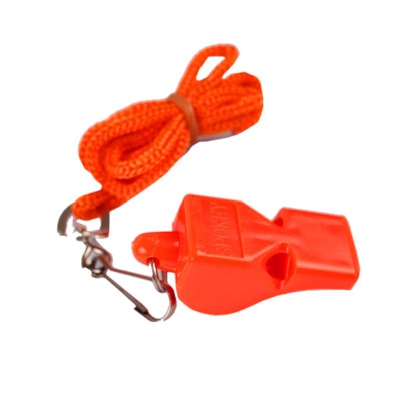 Spokey Mayday píšťalka plastová oranžová