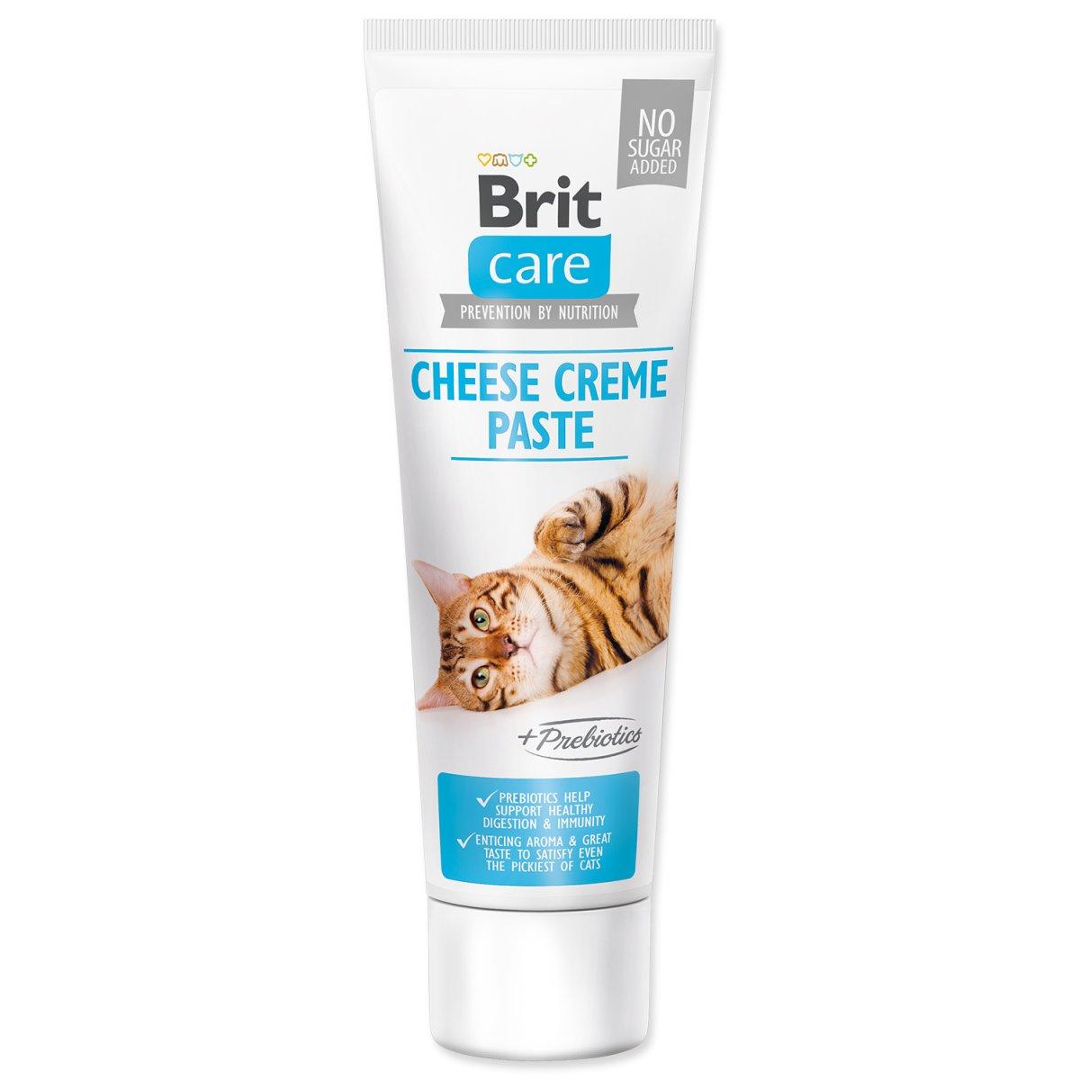 BRIT Care Cat Paste Cheese Creme enriched with Prebiotics (100g)