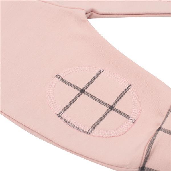 Kojenecké bavlněné tepláčky New Baby Cool růžové - 62 (3-6m)