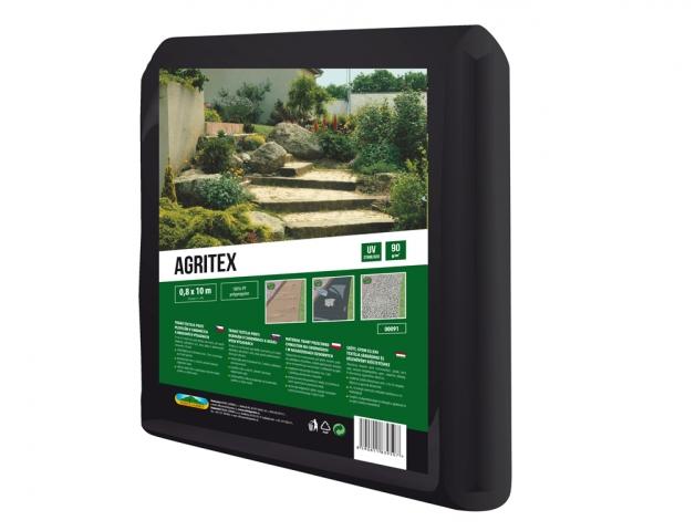 Textilie AGRITEX mulčovací tkaná černá 0,8x10m 90g