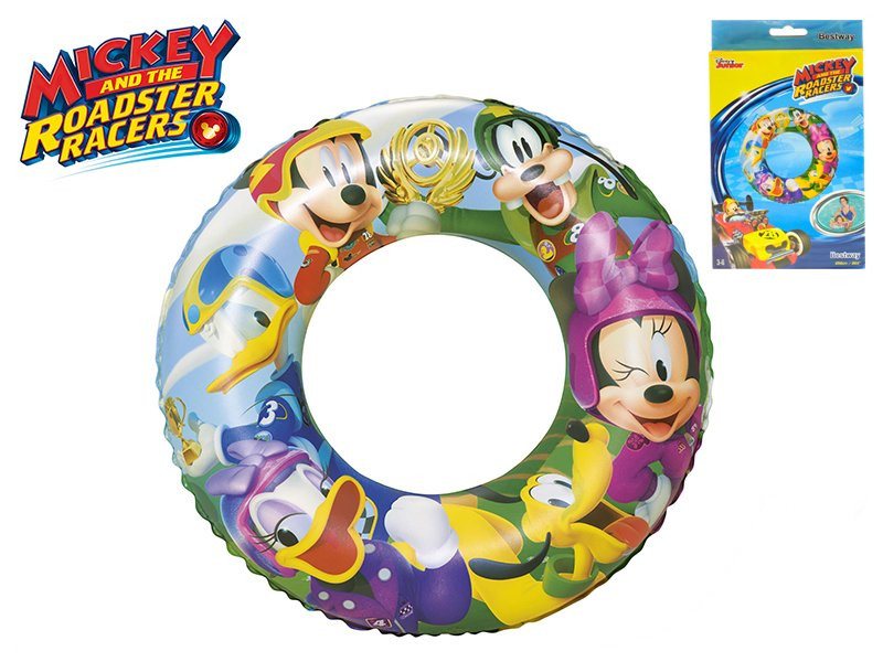 Nafukovací kruh - Mickey Mouse/Minnie, průměr 56 cm