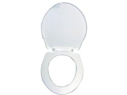 sedátko WC T 3550 delší plastové, BÍ