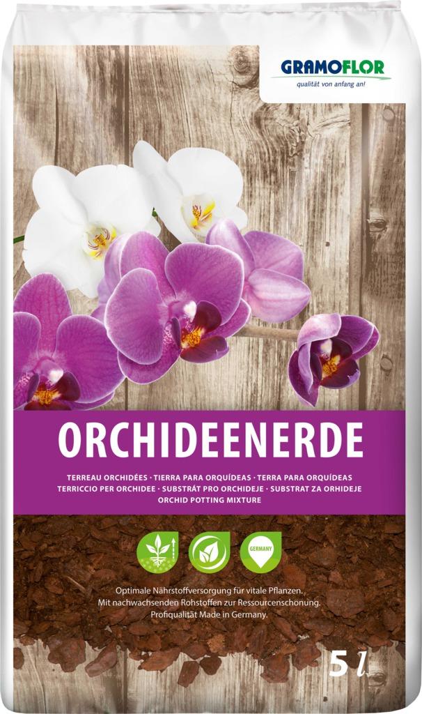 Substrát Gramoflor - Orchideje 5 l