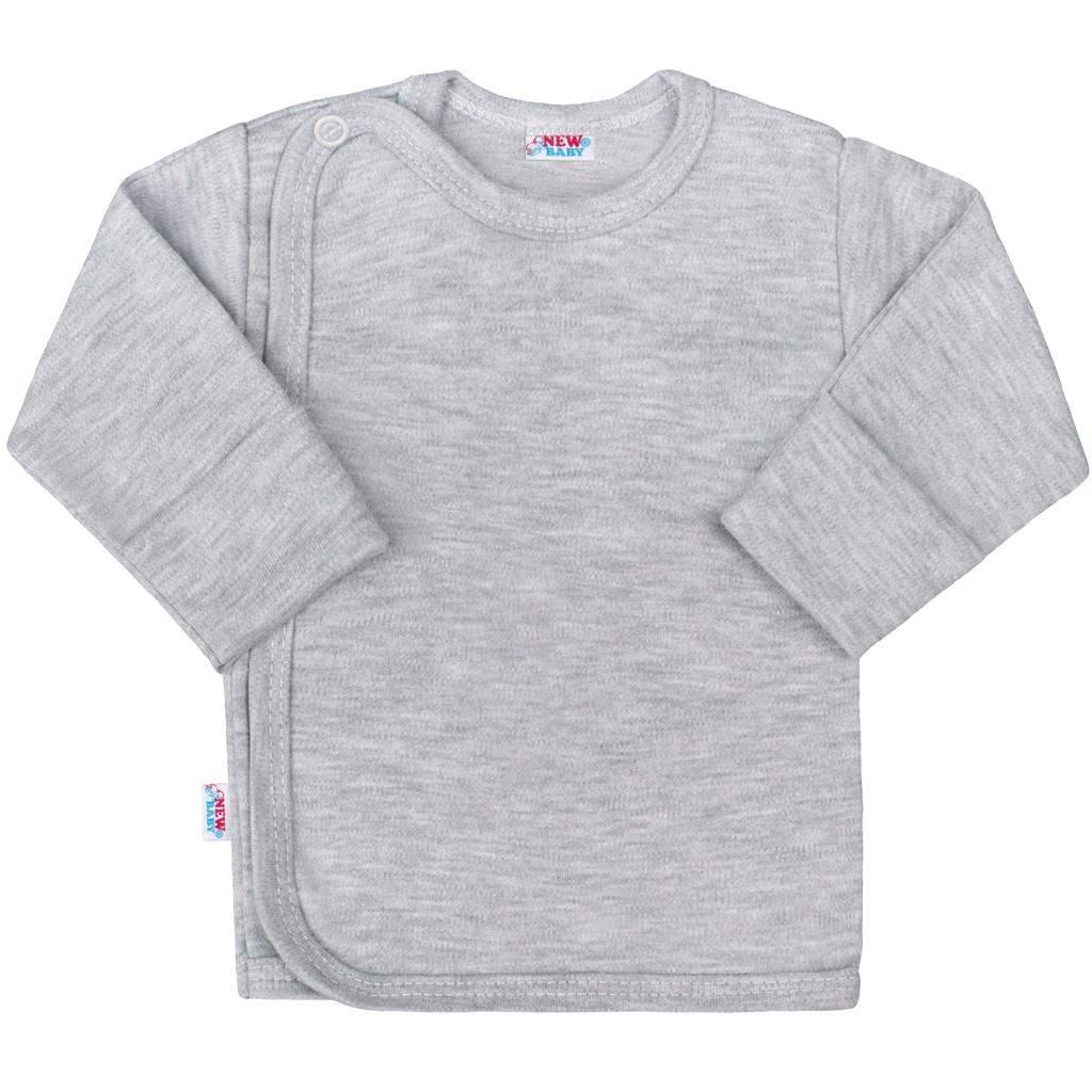 Kojenecká košilka New Baby Classic II šedá - 56 (0-3m)