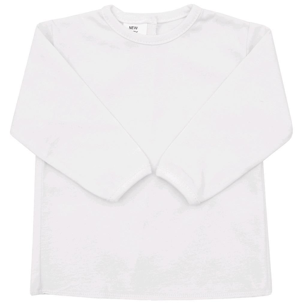 Kojenecká košilka New Baby bílá - 50