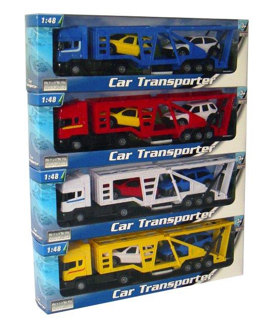 Mac Toys Kamion přeprava aut 1:48 - mix variant či barev