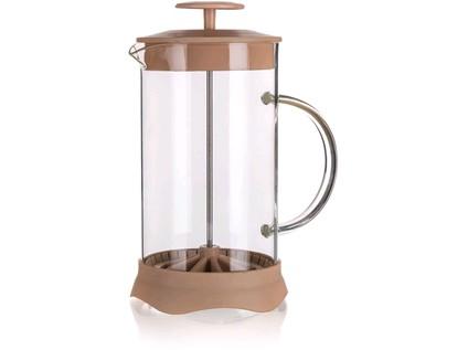 konvice na kávu TIAGO 0,35l sklo+ plastová, HN