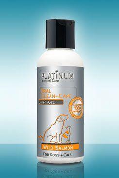 Platinum Natural Oral clean+care Gel salmon 120ml