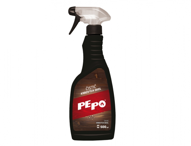 čistič krbových skel PE-PO 0,5l