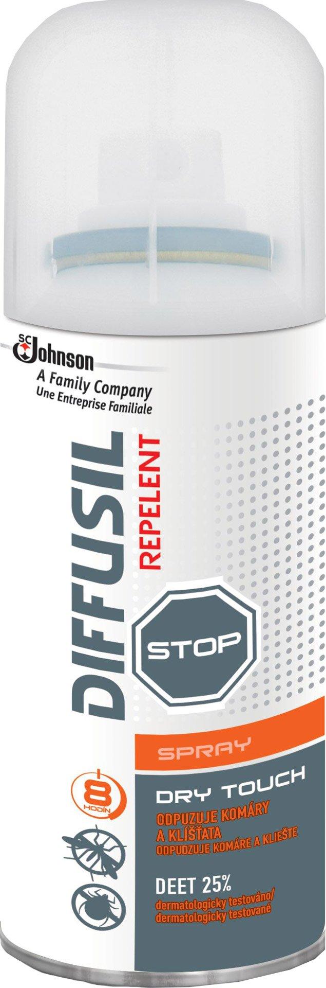 Diffusil - Dry repelent sprej 100 ml