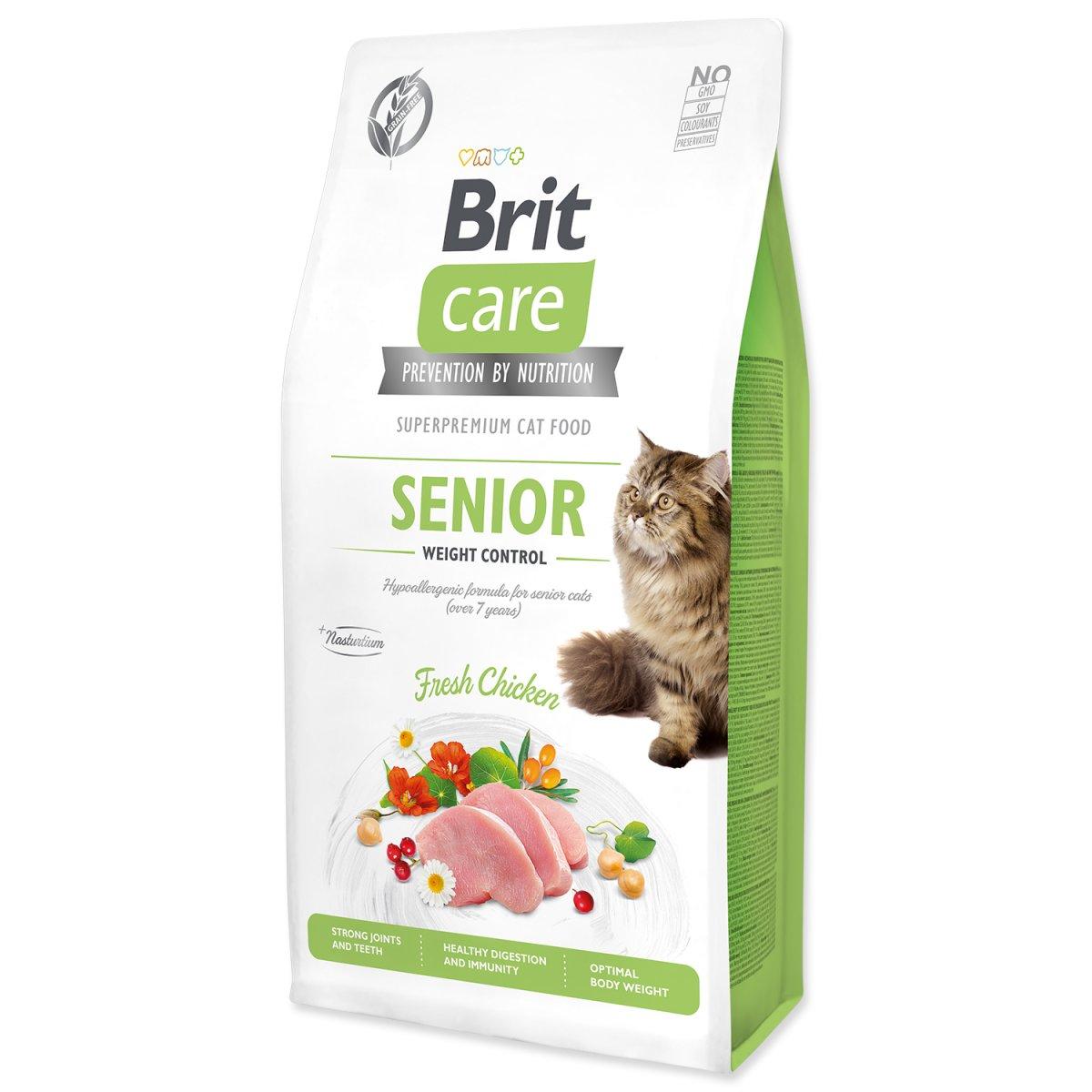 BRIT Care Cat Grain-Free Senior Weight Control (7kg)