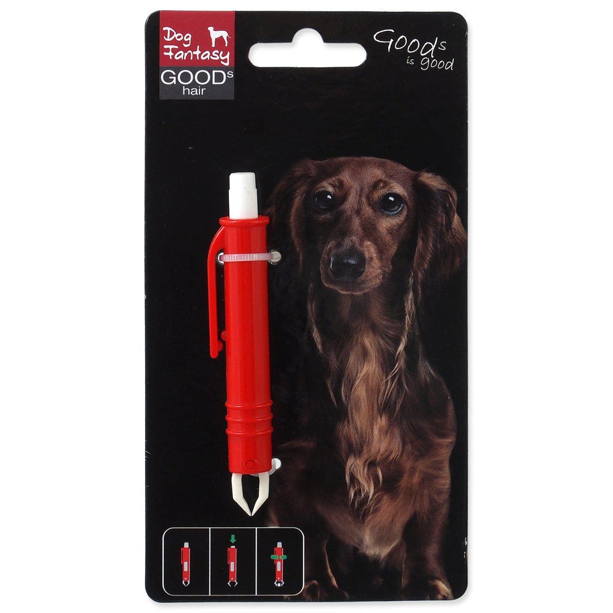 Pinzeta DOG FANTASY na klíšťata plastová 9 cm (1ks)