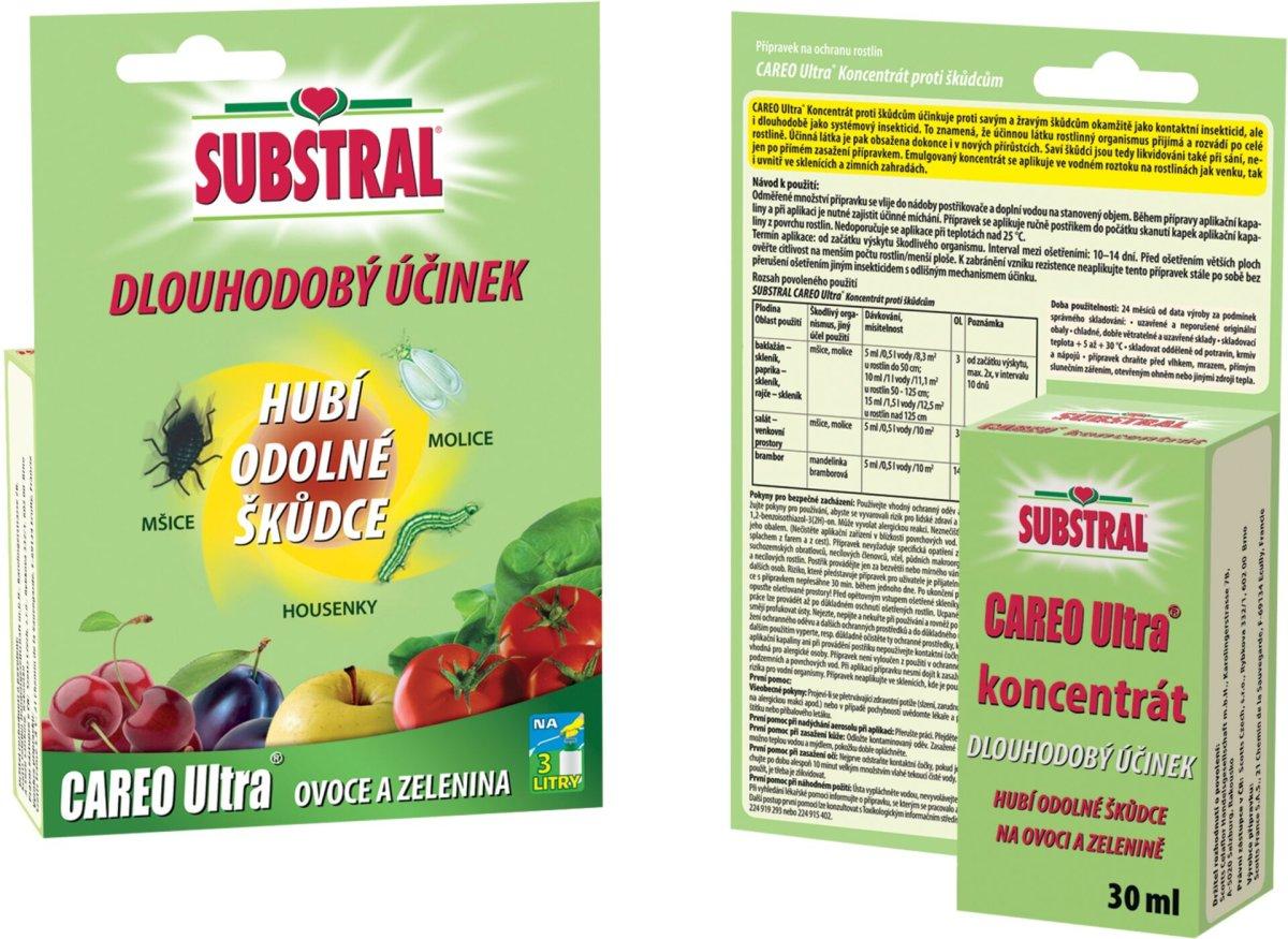 Substral Careo Ultra na zeleninu - koncentrát 30 ml