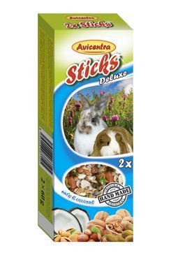 Tyčinky AVICENTRA ořechové pro velké hlodavce (2ks)