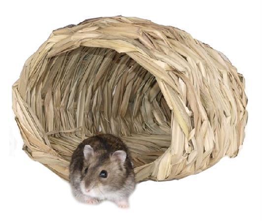 Domek pletený koš křeček/myš 15 x 14 x 10 cm