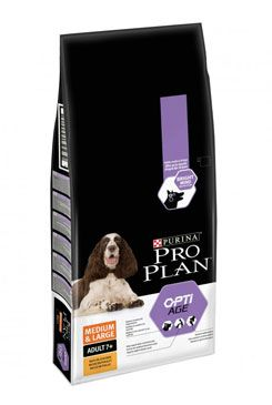 ProPlan Dog Adult 7+ Optiage Medium&Large 14kg