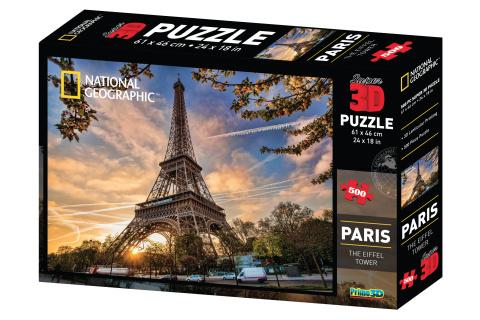 3D Puzzle Paříž 500 dílků