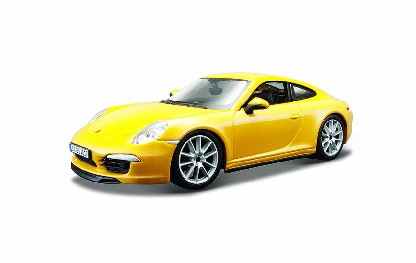 Bburago 1:24 Plus Porsche 911 Carrera S Yellow