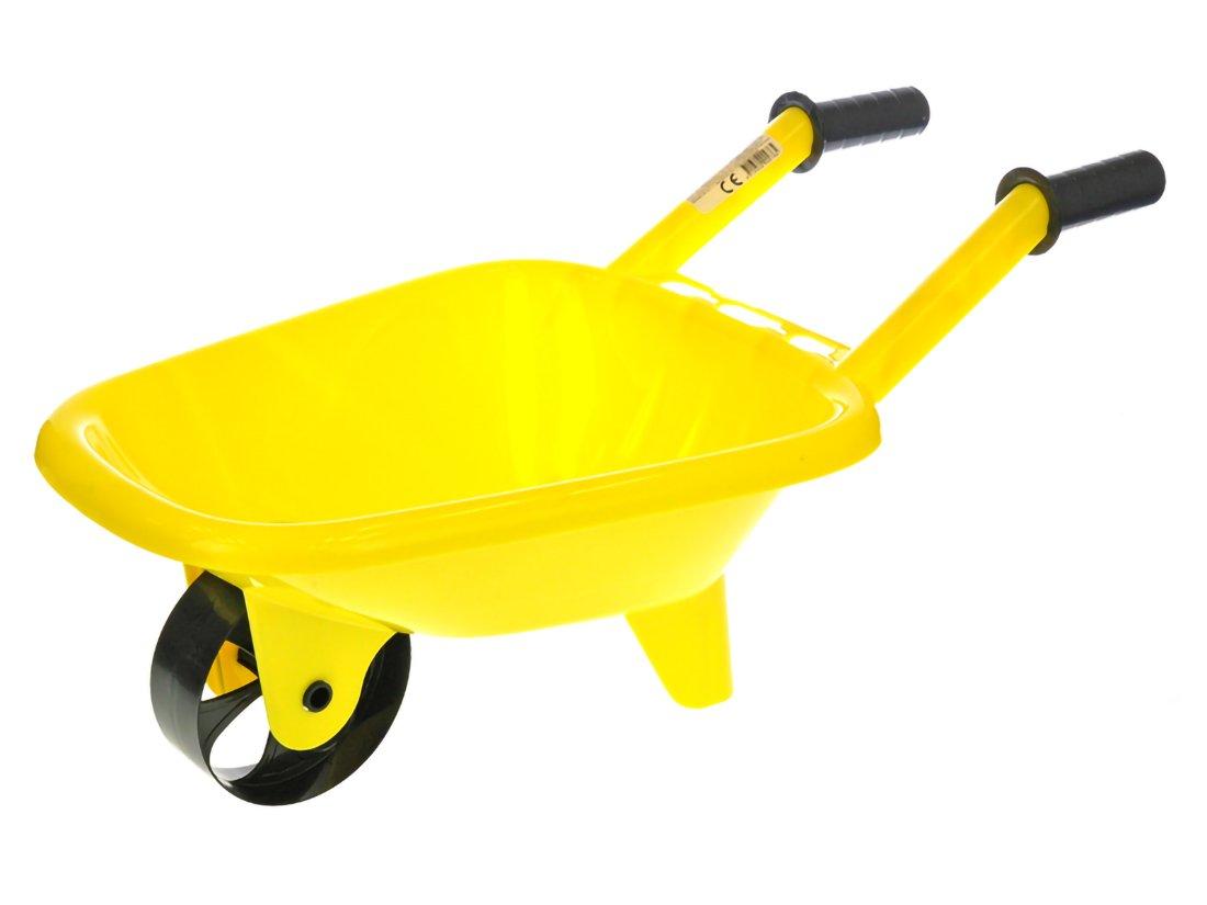 Kolečko na písek 60x25x30 cm žluté
