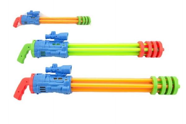 Vodní pistole trubice plast 67cm - mix barev